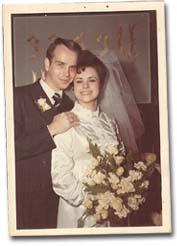Brian Atkinson - parents wedding